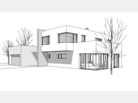 Architekturb ro j rg binzer projekte haustypen for Flachdach einfamilienhaus